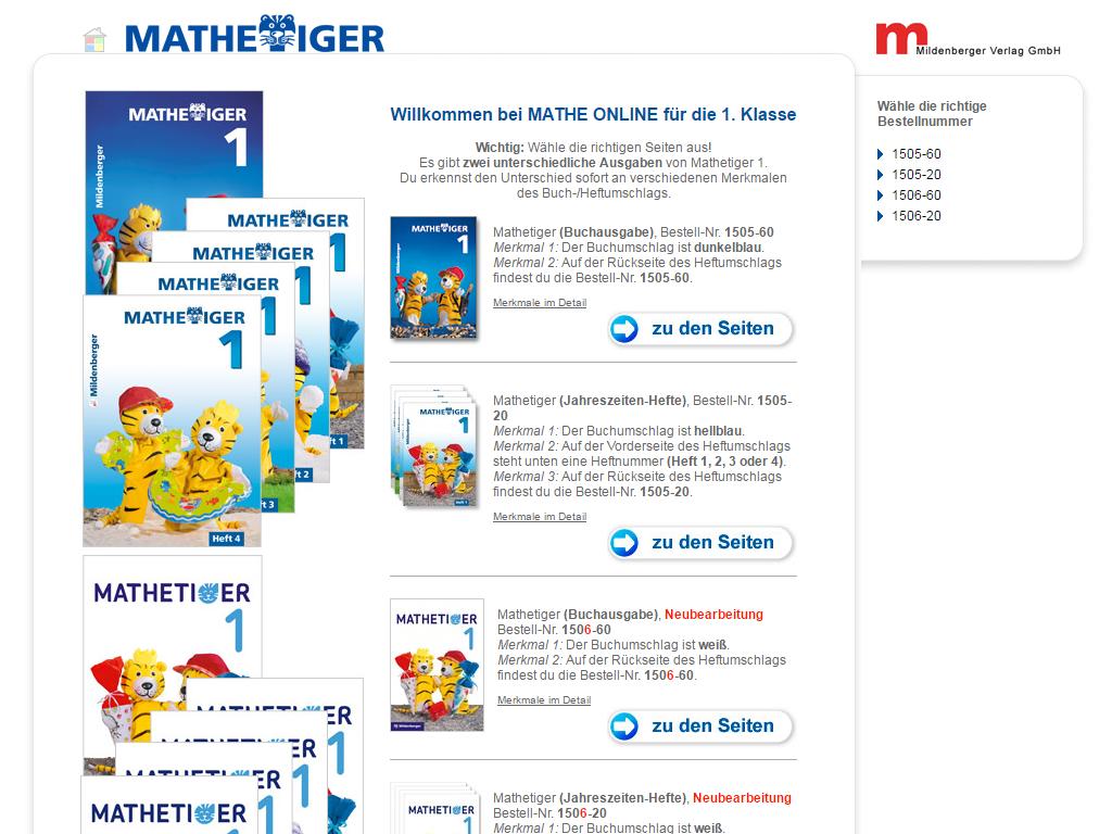 Mildenberger Bildungswelt Lernplattformen